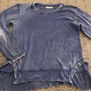 Ocean Drive heathered blue sweatshirt